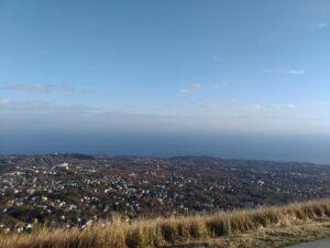 大室山山頂からの景色