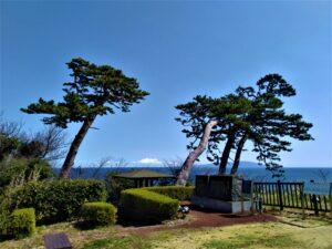 どんつく神社からの伊豆大島