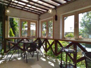 レマンの森 店内カフェ