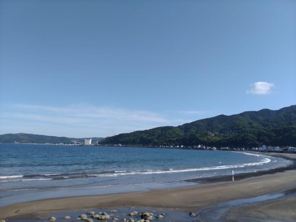 宇佐美海水浴場