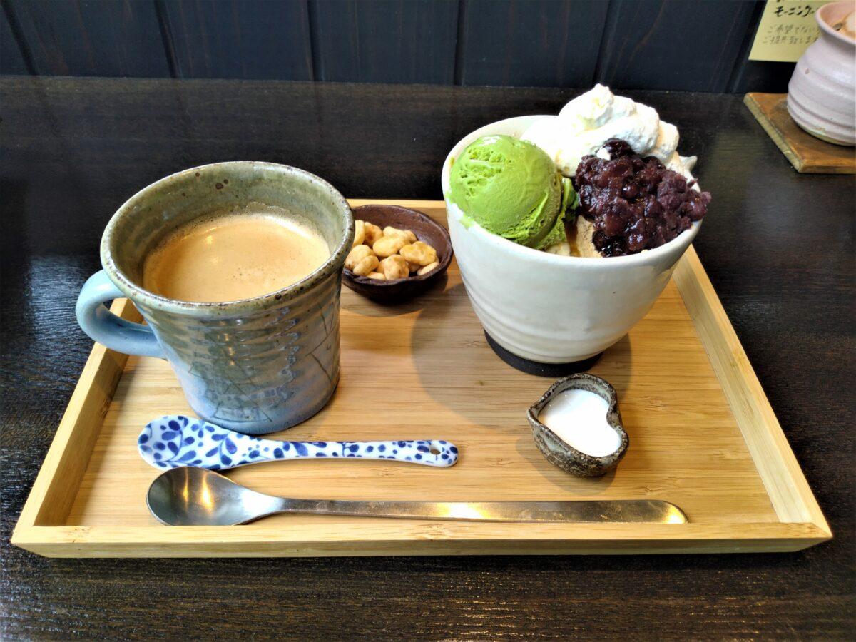 珈琲屋美豆 伊豆高原 コーヒー 和パフェ